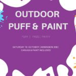 Outdoor Puff & Paint presented by Local Meditations (DC) October 19 2019