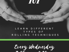 Rolling 101 Hosted by Zapp Snacks (DC) October 2 2019