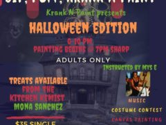 Sip Puff Krank & Paint Halloween Edition (DC) October 26 2019