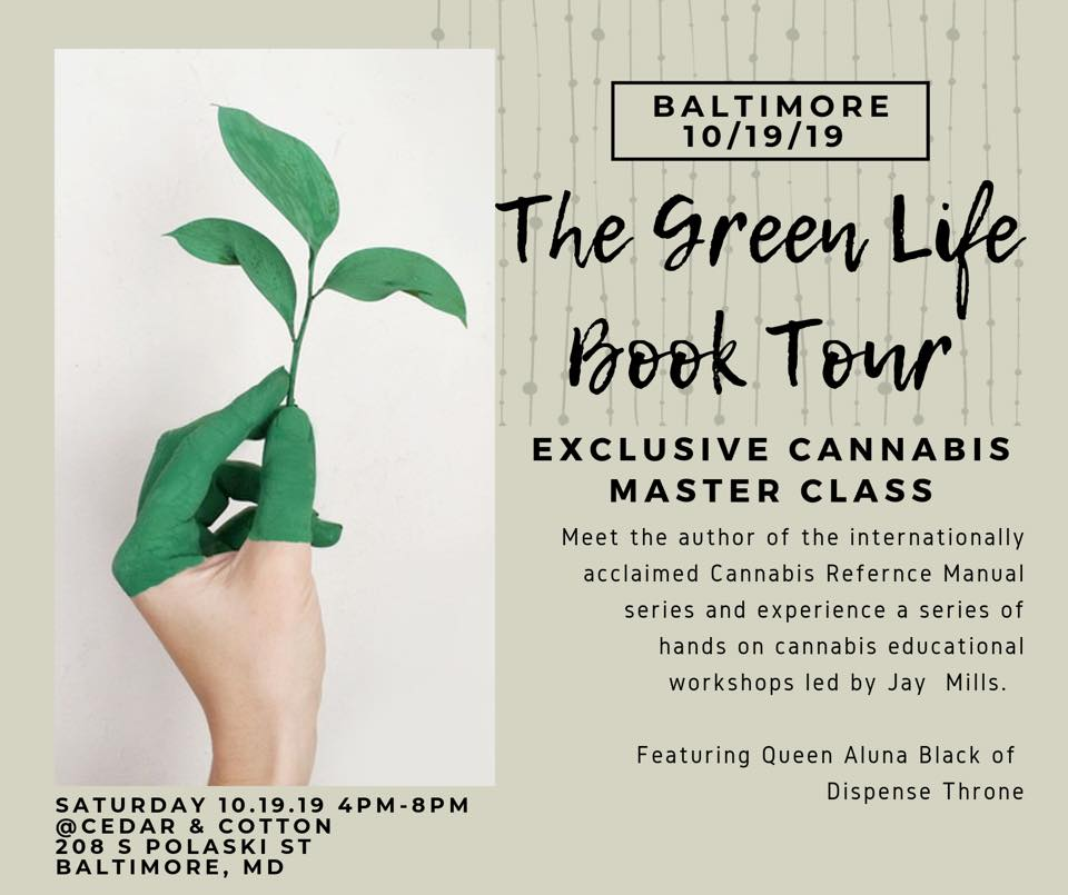 The Green Life Book Tour (MD) October 19 2019