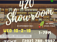 Washington Gasss Company 420 Showroom Event (DC) October 2 2019