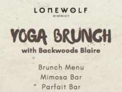 Yoga Brunch by Backwoods Blaire (MD) November 3 2019