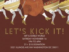 Art & Edible World Saturday (DC) November 16 2019
