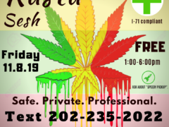 DC Rasta Smoke Sesh (DC) November 8 2019