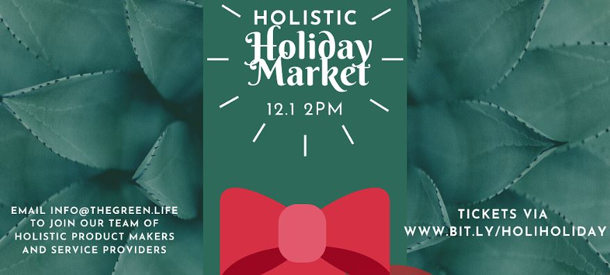 Holistic Holiday Market (DC) November 30 2019