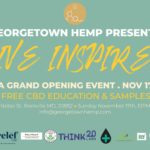 Live Inspired | A Georgetown Hemp Grand Opening Event Hosted by Georgetown Hemp (DC) November 17 2019