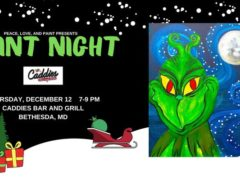 Paint Night by Peace Love and Paint (MD) December 12 2019