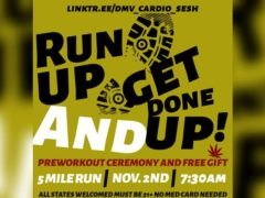 Run Up And Get Done Up [5 Mile Run] by @dmv_cardio_sesh (DC) November 2 2019