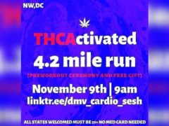 THCActivated 4.2 MILE RUN by @dmv_cardio_sesh (DC) November 9 2019