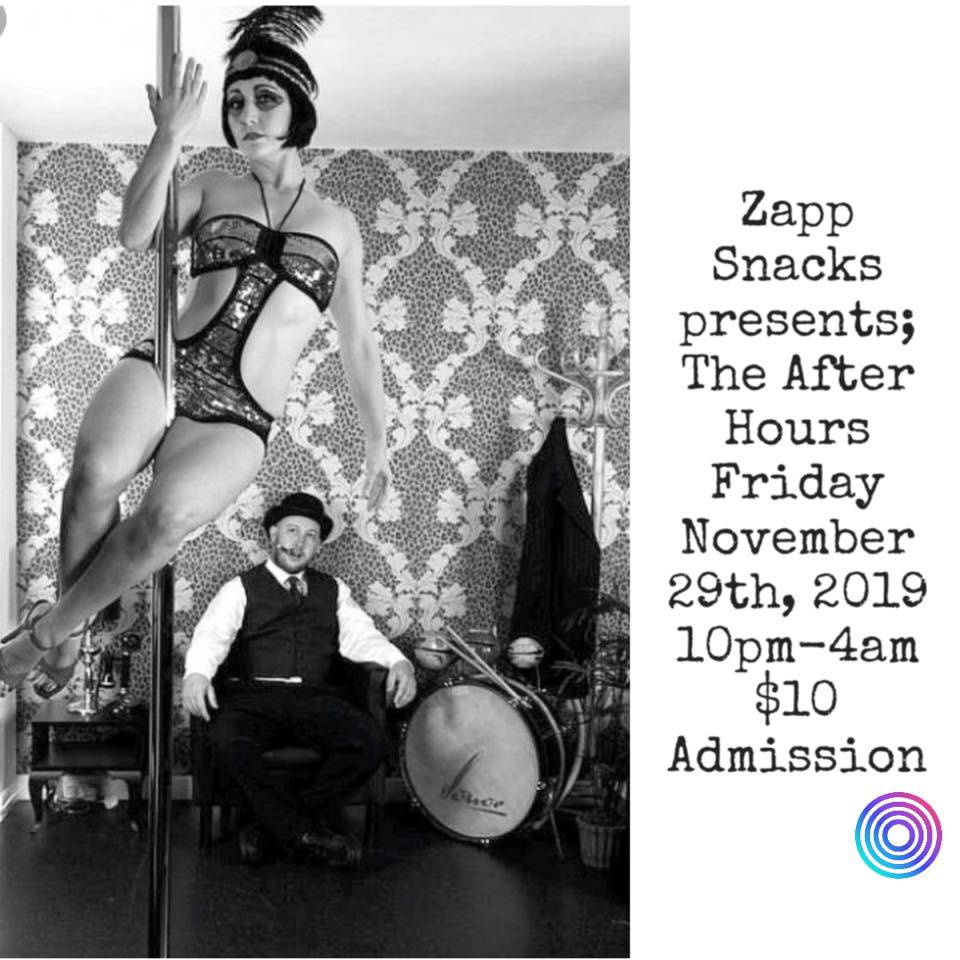 Zapp Snacks presents The After Hours (DC) November 29 2019