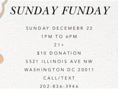 Art & Edible World Sunday Funday (DC) December 22 2019