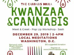 Cannabis & Kwanzaa Meet & Greet (DC) December 29 2019