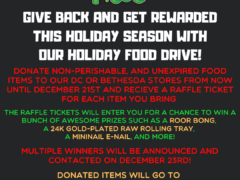 FunkyPiece Holiday Food Drive