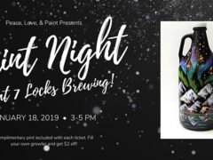 Paint Night at 7 Locks Brewing (MD) January 18 2020