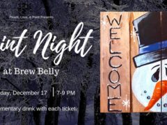 Paint Night at Brew Belly by Peace Love and Paint (MD) December 17 2019