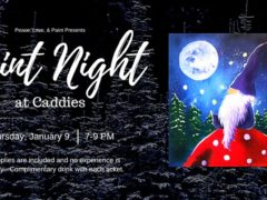 Paint Night at Caddies by Peace Love and Paint (MD) January 9 2020