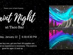 Paint Night at Taco Bar by Peace Love and Paint (MD) January 22 2020