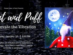 Paint and Puff at Elevate the Vibration (MD) January 10 2020