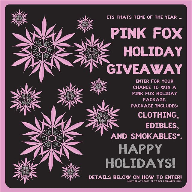 Pink Fox Holiday Giveaway
