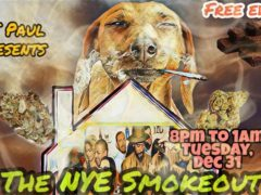 The NYE Smokeout by A.J. Paul (DC) December 31 2019