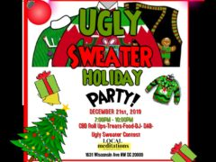 Ugly Sweater Holiday Party Hosted by localmeditations (DC) December 21 2019