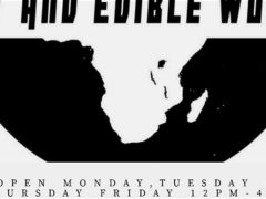 Art & Edible World Monday (DC) January 6 2020