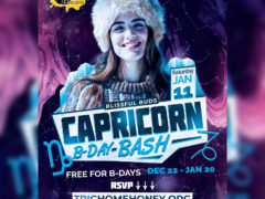 Blissful Budz Capicorn Bday Bash Saturday (DC) January 11 2020