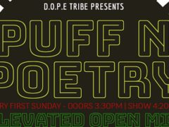 D.O.P.E. Tribe Presents Puff N Poetry (DC) Multiple Dates