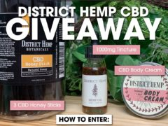 District Hemp Botanicals CBD Giveaway (DMV)