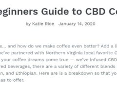 Make sure to Read District Hemp Botanical's A Beginners Guide to CBD Coffee