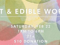 Art & Edible World Saturday (DC) February 22 2020