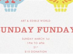 Art & Edible World Sunday Funday (DC) March 1 2020