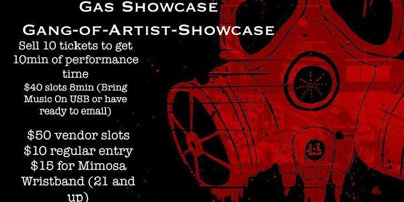GAS Gang.of.Artist.Showcase by Sperry Entertainment (DC) March 14 2020