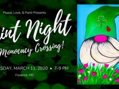 Paint Night at Monocacy Crossing (MD) March 11 2020