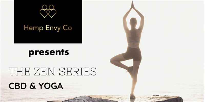The Zen Series - CBD & yoga event by Hemp Envy Co (DC) February 23 2020