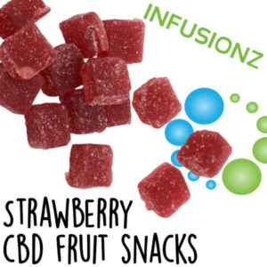 CBD Infusionz CBD Fruit Snacks Strawberry