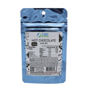CBD Infusionz Instant CBD Drink Mix Hot Chocolate