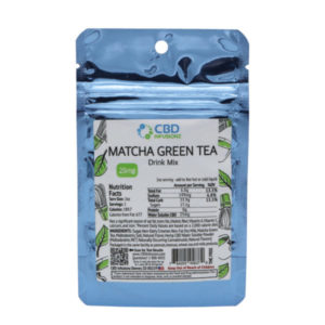 CBD Infusionz Instant CBD Drink Mix Matcha Green Tea