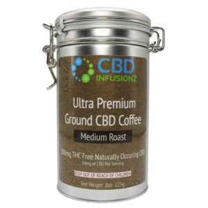 CBD Infusionz Premium Hemp CBD Coffee