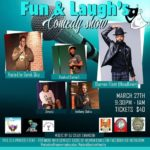 Fun And Laughs Comedy Show Hosted by A Taste of Heaven Cakes (MD) March 27 2020