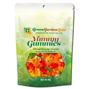 Green Garden Gold CBD Edible Yummy Gummies