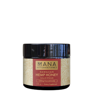 Mana Artisan Botanicals Hemp Honey Lehua & Wilelaiki