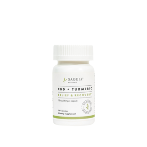 Sagely Naturals Relief Recovery Capsules