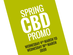 Seedsman Spring CBD Promo Starts Today