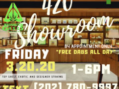Washington Gasss Company 420 Showroom (DC) March 20 2020