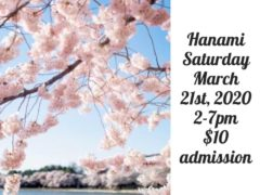 Zapp Snacks presents Hanami (DC) March 21 2020