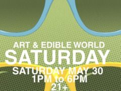 Art & Edible World Saturday (DC) May 30 2020