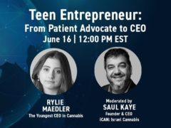 CannnaTech Teen Entrepreneur Webinar (online) June 16 2020