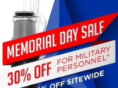 Memorial Day Savings for Veterans of 30% off Dr Dabber