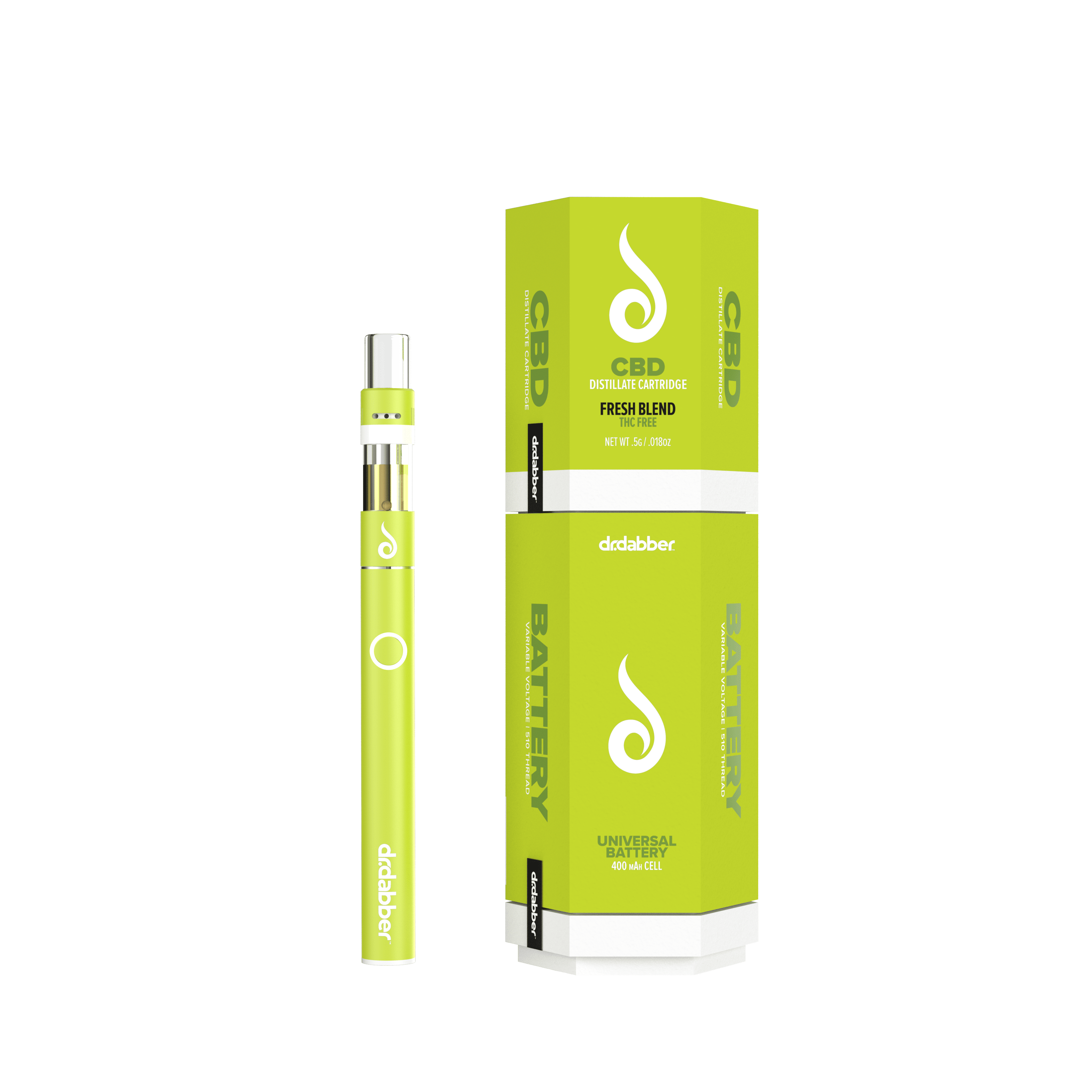 Image of CBD Cartridge & Battery Combo - Fresh Blend